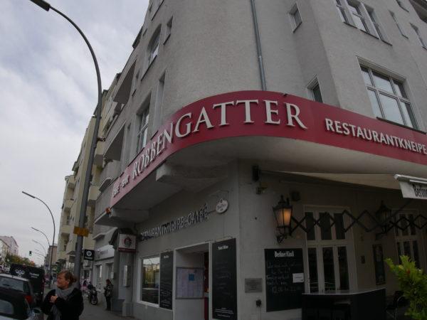 Robbengatter Schöneberg-ein toller Platz zum Frühstücken