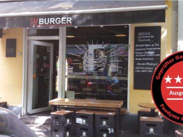 MBurger Berlin super lecker und schnell