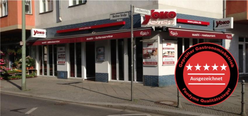 Super leckeres Sushi aus Berlin-Schöneberg
